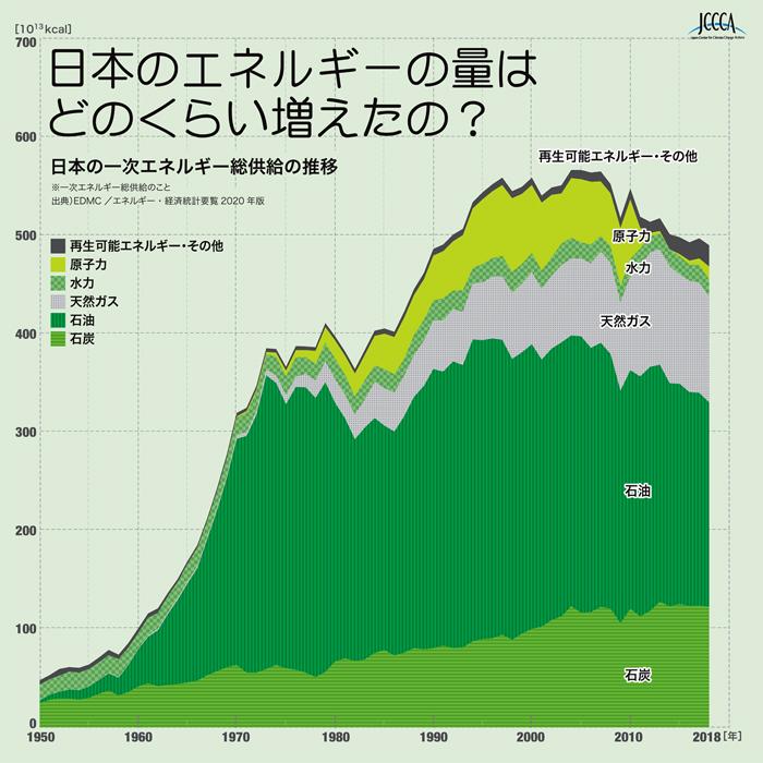 出典)EDMC /エネルギー・経済統計要覧2020年版